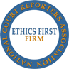 Ethics First Firm Seal by National Court Reporters Assocation