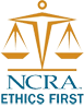 NCRA Ethics First Seal